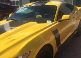 2015 Ford Mustang GT Twin Turbo yellow